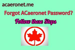 How to Reset Acaeronet Password